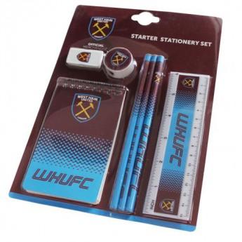 West Ham United školní set Starter Stationery Set