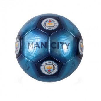 Manchester City fotbalový mini míč Skill Ball Signature - size 1