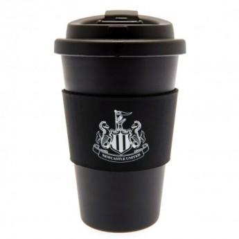 Newcastle United cedule dítě v autě Silicone Grip Travel Mug