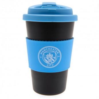 Manchester City cestovní hrnek Silicone Grip Travel Mug