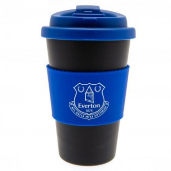 FC Everton cestovní hrnek Silicone Grip Travel Mug