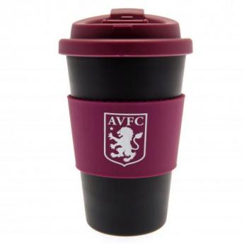 Aston Villa cestovní hrnek Silicone Grip Travel Mug