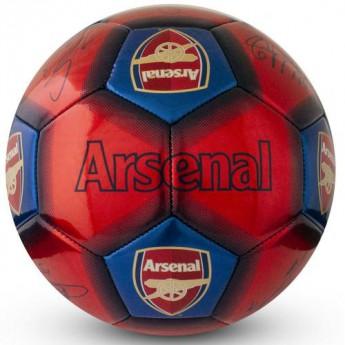 FC Arsenal fotbalový míč Football Signature - size 5