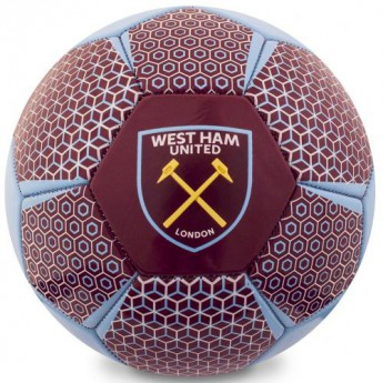 West Ham United fotbalový míč Football VT - size 5