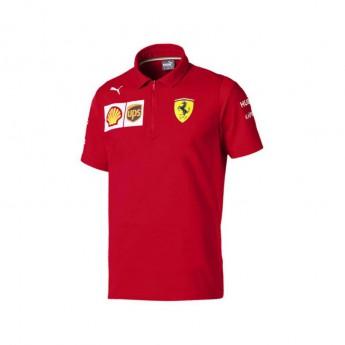 Ferrari pánské polo tričko red NMWN F1 Team 2019