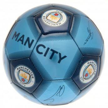 Manchester City fotbalový míč Football Signature - size 5